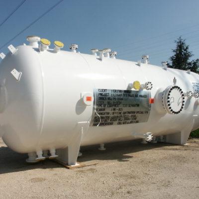 Test Separator in SA 516 Gr. 70 / Superduplex; Size: 7.400 x 2.800 mm; 37 t – Ufuq plant, Oman