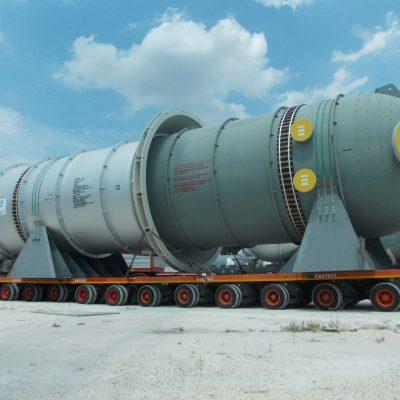 Pressure Vessel in SA 387M Gr.11 Cl.1 / SA 182M F.11 Cl.2 – Size: 15.430 x 3.070 mm; 85 t; Korea