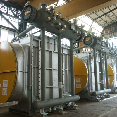 Water Tube Boiler in SA 516 G.70 / SA 192 / SS 304H at Yanbu plant – Size: 4.730 x 3.084 + 4.730 x 950 mm; 35 t – Saudi Arabia