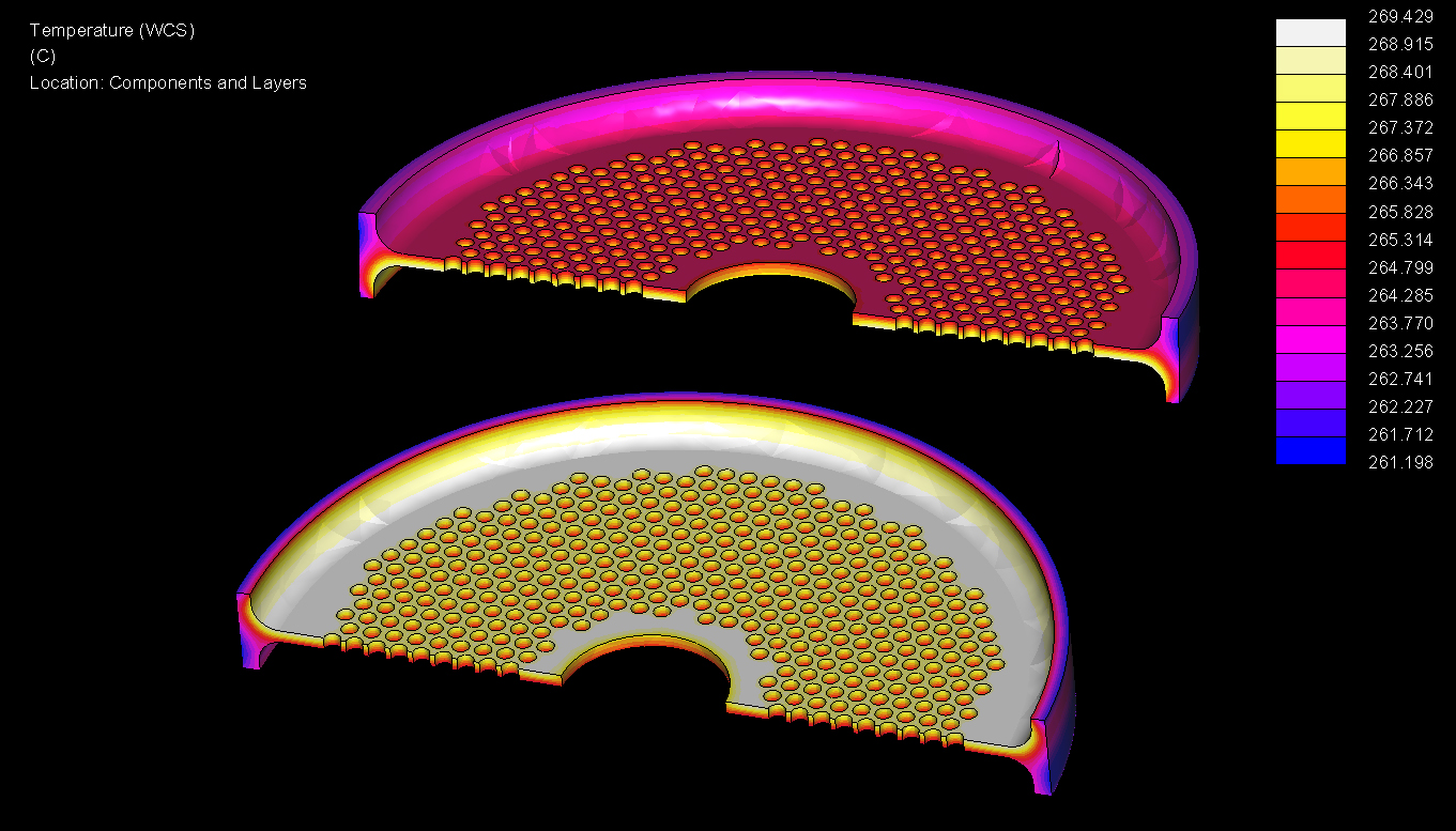 Finite Elements analysis on flexible tubesheets