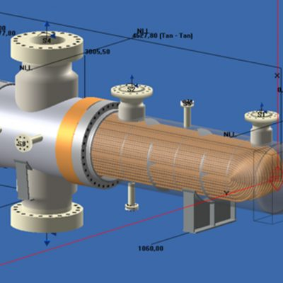 Design by Code (ASME and TEMA) of Shell & Tube Heat Exchanger