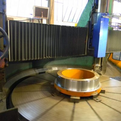 Machining of stub end