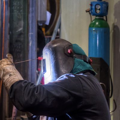 Tube welding by manual GTAW